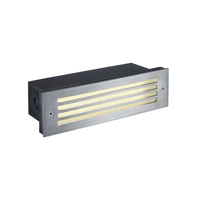 Brick Mesh LED Stainless Steel Recessed Wall Lamp Light 4W LED Warm White