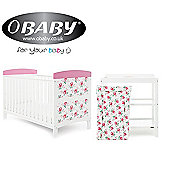 Obaby Grace Inspire 2 Piece Room Set and Changing Mat - Cottage Rose