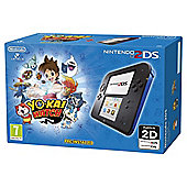 2DS Blue HW + Yo Kai Watch (preinstalled)