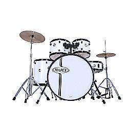 Mapex Voyager Drum Kit White