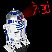 Star Wars R2 D2 Projection Alarm Clock