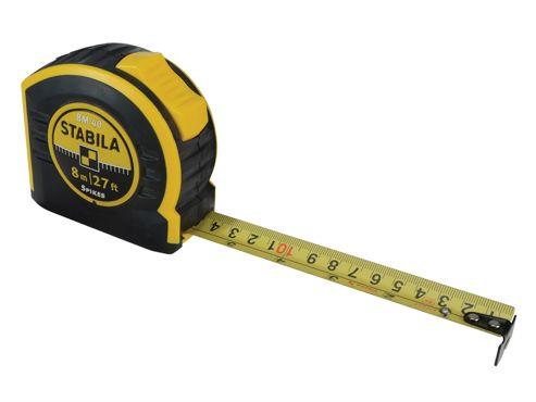 Stabila BM40 Pocket Tape 8m/26ft (Width 25mm)