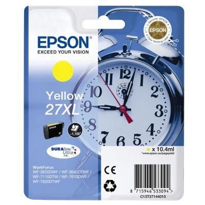 Epson Alarm Clock 27XL DURABrite Ultra Ink Cartridge (Yellow)