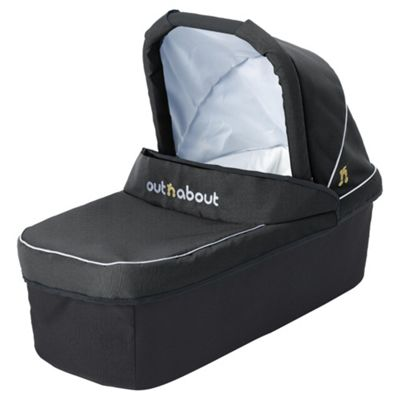 Out n About Nipper Carrycot, Raven Black