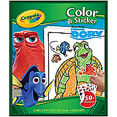 Crayola Finding Dory Colour & Sticker Pack