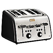 Tefal TT7708UK Maison 4 Slice Toaster - Chalkboard Black