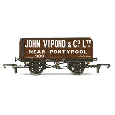 HORNBY Wagon R6812 7 Plank Wagon 'John Vipond'