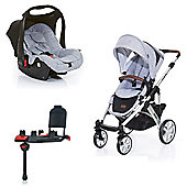 ABC Design Salsa Isofix Travel System - Graphite