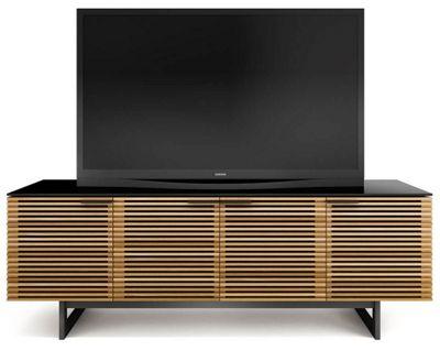 BDI Corridor White Oak TV Cabinet