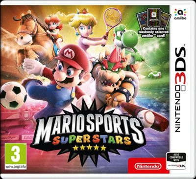 3DS Mario Sports Superstars + amiibo Card