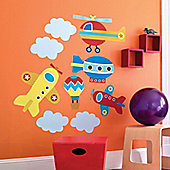 Up, Up and Away Giant Wall Stickers