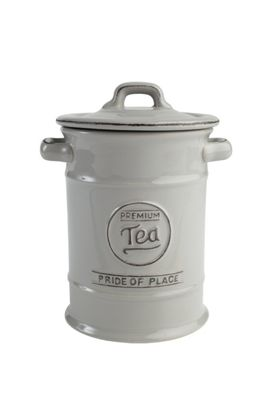 T&G Woodware Pride of Place Tea Storage Jar in Cool Grey 18090