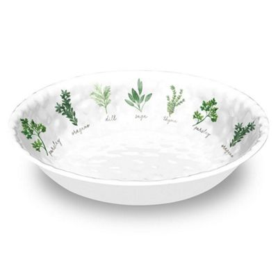 Epicurean Garden Herbs Large Salad Bowl