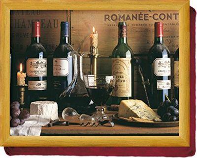 Creative Tops Vintage Wine Beanbag Cushion Lay Tray LT660