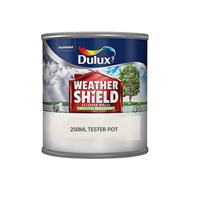 Dulux Weathershield Smooth Masonry - 250ml - Gardenia
