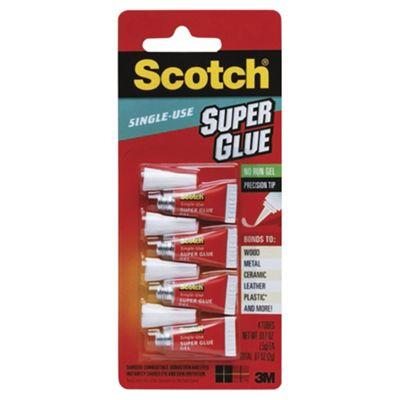 Scotch Super Glue Single Use