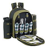 VonShef 4 Person Deluxe Picnic Backpack