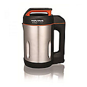Morphy Richards 501013 Soup Maker with Serrator Blade & 1.6 Litre Capacity in Stainless Steel