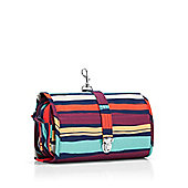 Reisenthel Wrapcosmetic Cosmetic Make Up Toiletry Travel Organising Bag with Shoulder Strap Artist Stripes