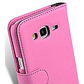 Samsung Galaxy J5 Pink Book Case