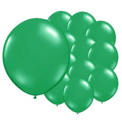 Fresh Green 5 inch Latex Balloons - 100 Pack
