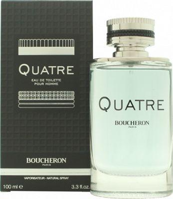 Boucheron Quatre Pour Homme Eau de Toilette (EDT) 100ml Spray For Men