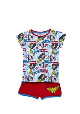 DC Comics Wonder Woman Pyjamas Red 3-4 years