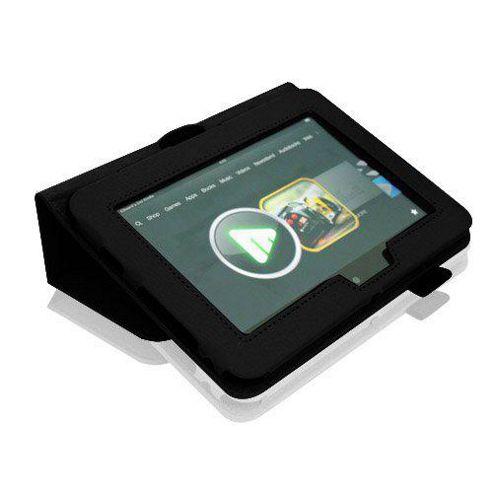 U-bop Neo-Orbit Midi Flip Case Black - For Amazon Kindle Fire HD 7