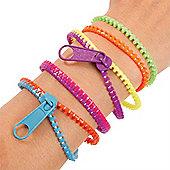 Zipper Bracelets (Pack of 4)