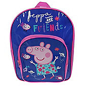Peppa Pig 'Classic' Arch Pocket School Bag Rucksack Backpack