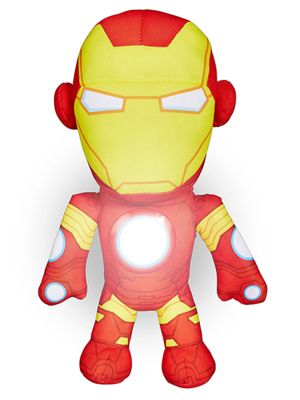 Avengers Iron Man Go Glow Soft Pal