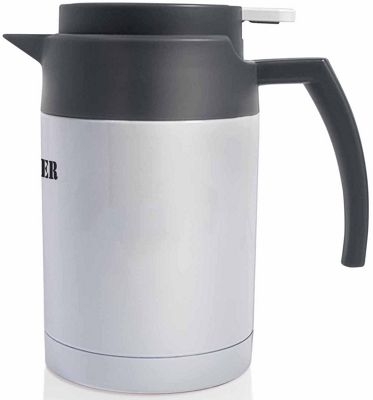Grunwerg Pioneer Carafe Vacuum Pouring Jug Server in White 600ml SHK-600W