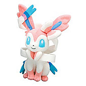 "Pokemon T18138 10"" Sylveon Nymphia Plush Doll Stuffed Animal Toy"