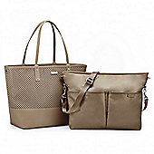 Skip Hop Duette Tote Bag - Taupe