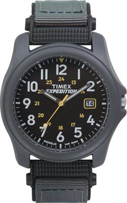 Timex Expedition Mens Fabric 24 hour Backlight Date Watch T42571