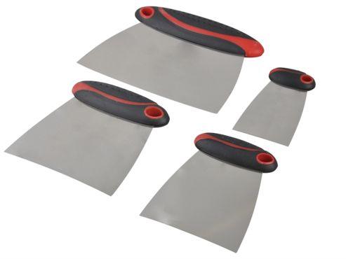 Faithfull Filler & Spreader Set of 4 Stainless Steel