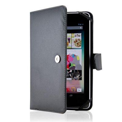 U-bop Neo-Orbit Encyclopedia Flip Case Brown - For Amazon Kindle Fire HD 7 inch