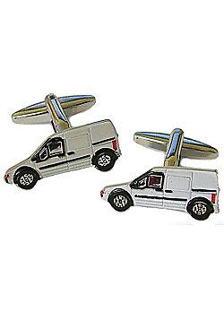 White Van Man Courier - Builders Cufflinks