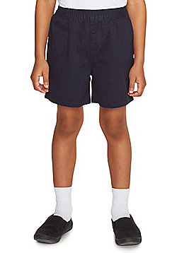 F&F School 2 Pack of Rugby Shorts - Navy