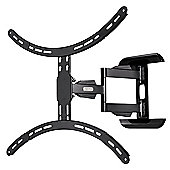 Hama Full Motion Cantilever Wall Bracket For TVs Up To 37 inch - 65 inch - Black