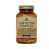Solgar Carnitine Complex Tablets 60