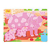Bigjigs Toys Chunky Puzzle Pig and Piglet