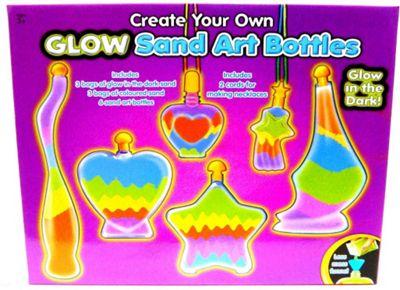Bottle Glow Sand Art Set Craft Kit