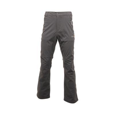 Regatta Mens Fellwalk II Trousers Seal Grey 30 Regular Leg