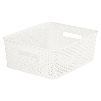 Curver My Style Cream 13L Medium Storage Box