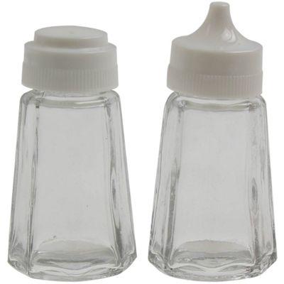 Apollo 7cm Glass Salt and Pepper Set