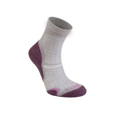Bridgedale Ladies Wool Fusion Ultra Light Sock Aubergine L
