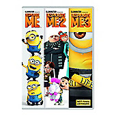 Despicable Me 1-3 Boxset Dvd 3Disc