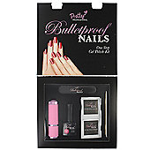 Pretty Professional Bulletproof Nails One Step Gel Polish Starter Kit-Powder Pink