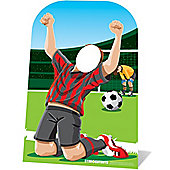 Football Stand In Photo Prop - 117cm